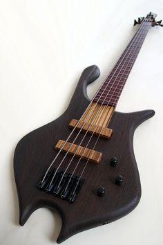 bass of the week padalka guitars ennea hotchkiss 3 string bass bass culture pinterest. Black Bedroom Furniture Sets. Home Design Ideas