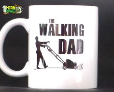 The Walking Dead Inspired The Walking Dad Coffee Mug- 11 oz TWD Inspired Coffee Mug Gift for Dads