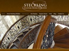 B2 Web Studios' Joomla website design for Steckling Builders in Neenah, Wisconsin - http://stecklingbuilders.com