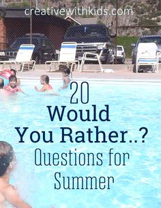 20 Would You Rather Questions #game #travel