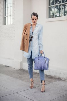 How To Style A Work Bag For The Weekend | Front Roe by Louise Roe // Fashion Style Ideas & Tips