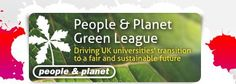 People & Planet Green League table
