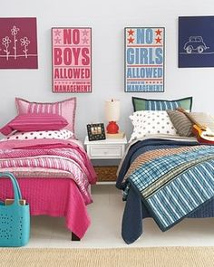 Boys and Girls Shared Bedroom Ideas 21 - https://www.facebook.com/different.solutions.page
