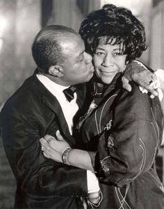 EASY ON THE KISS CAUSE MY HEART BELONGS TO DADDY…Louis Armstrong and Ella Fitzgerald
