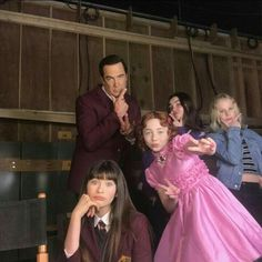 """viodora: """"absolxguardian: """" viodora: """"LOOK AT CARMELITA!! I HAVE NO DOUBT SHE'LL BE GREAT FOR THE ROLE NOW AAH I'M SCREECHING """" Who's the blonde kid? I'm assuming the person dressed like a princess is Carmelita and the dark haired on is..."""