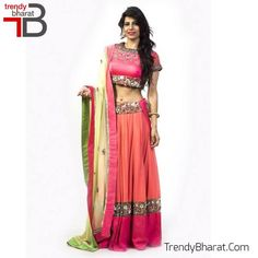 #Exclusive #Designer #Lehenga #Pink #Betrendy