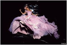 "Gisele Bündchen in Dior by Galliano – ""Knight Vision"" by Nick Knight for Vogue UK November 2006"