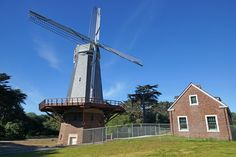Golden Gate Park Windmills, San Francisco, California