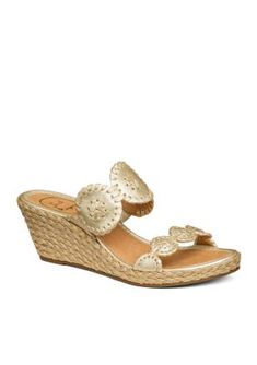 Jack Rogers  Shelby Wedge Sandals