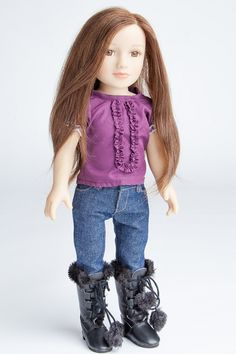 Lizzy My Salon Doll - The First and Original Doll With Real Hair
