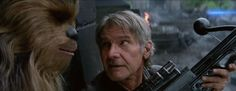 """I like this thing."" - Han Solo, to Chewbacca"
