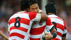 Opening tries from EVERY team in the RWC Rugby World Cup, Ronald Mcdonald, Japan, Scotland, Celebrities, Garra, Hoop, Centre, Live