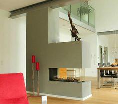 raumteiler | living room | pinterest | raumteiler, raumteiler ... - Kamin Als Trennwand