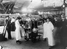 A J Lyons Coffee stall 1905 Victoria Station  Railway Heritage Trust