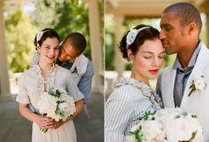 Jane Austen-inspired wedding