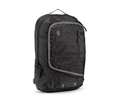 I just bought the Timbuk2 Q Backpack. I couldn't be happier with the plethora of pockets, built in bottle opener, and geeky good looks. $99