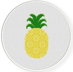 Looking for your next project? You're going to love Pineapple Cross Stitch Pattern by designer teamembro3703945.