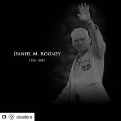 Repost @steelers #steelers #steelernation #steelernationforever #danrooney #RIP  #Repost @callistafoster with @insta.save.repost