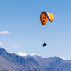 Floating free like a bird amongst the mountains . Itinerary Planner, Travel Planner, Nz South Island, New Zealand Travel, Trip Planning, Wonders Of The World, Pure Products, Bird, Adventure
