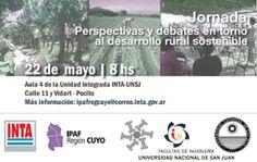 Jornada sobre Perspectivas y debates en torno al desarrollo rural sostenible #UNSJ