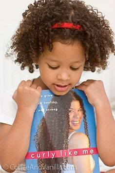 Tips for Little Ones #babynaturals #naturalhair ...Curly Like Me is an excellent resource IMO
