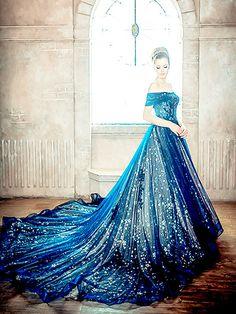 Vestido luxuoso