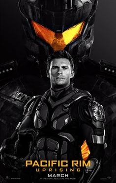 Pacific Rim: Uprising poster, t-shirt, mouse pad Pacific Rim Jaeger, World Movies, Live Action Film, Fiction Movies, 3 Movie, Tv Series Online, 2018 Movies, New Poster, Jurassic World
