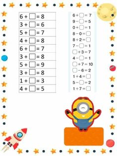Mental Maths Worksheets, Preschool Worksheets, Exam Wishes Good Luck, Teaching Kids, Kids Learning, Numicon, Teacher Cards, Kid Experiments, Bible Lessons For Kids
