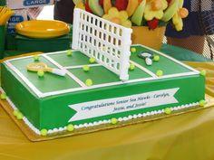 Cake made for the Myrtle Beach High School Tennis Team!