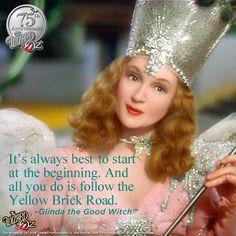 THE WIZARD OF OZ ~ Glinda the Good Witch  #WizardofOz75