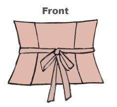 "Corset belt or ""Fajin"" would look great over a Flamenco dress or to make a standard skirt high waisted"