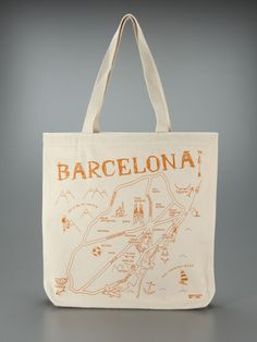 Barcelona Tote by Maptote on Gilt