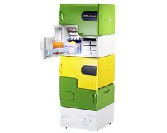Flatshare Fridges: Food Storage Solutions for Roommates  ... see more at InventorSpot.com