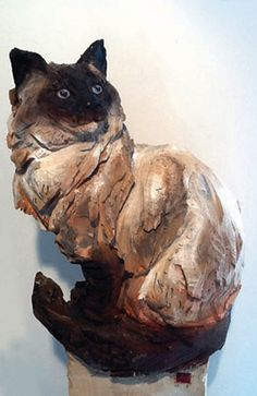 Love our Siamese babies! Pottery Animals, Ceramic Animals, Ceramic Art, Pottery Sculpture, Sculpture Clay, Pottery Art, Clay Cats, Sculptures Céramiques, Wood Carving Art