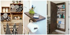 9 Smart Ways to Make the Most of a Tiny Bathroom  - CountryLiving.com