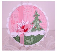 Stampin Up christmas tree card