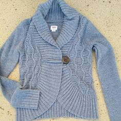 "Gray Sweater Gray Sweater. Size Small. Brand: Mossimo. 100% Acrylic. When laying flat from top of shoulder to bottom of sweater is 21"", chest: 16.5"", sleeve length: 26"". No rips, tears, flaws, or defects. Comes from a smoke free home. Mossimo Supply Co Sweaters Cardigans"