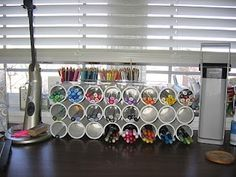 marker storage made from pvc pipe
