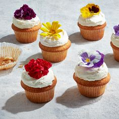 Got royal wedding fever? Serve these Meghan & Harry-inspired lemon-elderflower cupcakes with a spot of tea or a champagne toast.