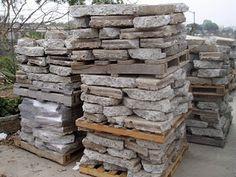 Just seeing a pallet of rocks (in this case, Urbanite...broken concrete) gets my creative juices flowing.  :)