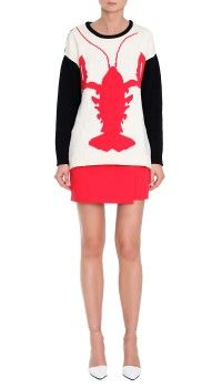 Lobster Intarsia Sweater