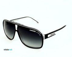Lunettes de soleil Carrera Grandprix 2 Acétate Noir - blanc - 111 EUR Carrera  Lunette, b09ddc00a0c0