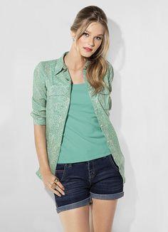 Camisa Verde Mineral