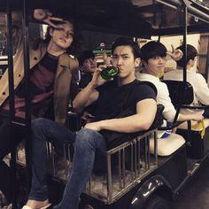 Super Junior's Heechul, Leeteuk, Siwon, and Donghae Choi Siwon, Lee Donghae, Kim Heechul, Leeteuk, Kpop, Super Junior T, Don G, Kim Young, Last Man Standing