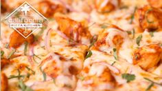 Recipe from the California Pizza Kitchen. It's their yummy BBQ Chicken Pizza - Get the Dish Chicken Pizza Recipes, Chicken Recipes Video, Bbq Chicken, Barbecued Chicken, Recipe Videos, Chicken Wings, Kitchen Recipes, Cooking Recipes, Fun Recipes