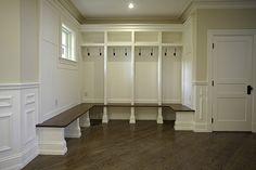 mudroom seating & storage