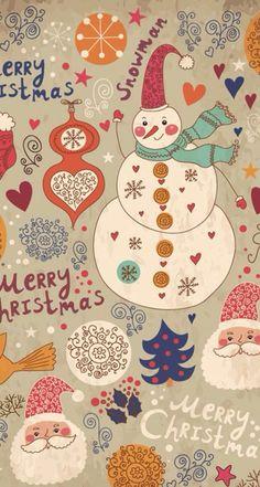 Create your Christmas drawing Christmas Tumblr, Christmas Mood, Noel Christmas, Christmas Paper, Retro Christmas, Christmas Images, Christmas Greeting Cards, Christmas Drawing, Wallpaper Natal