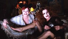 """Tell us about it, Janet."" Columbia & Magenta, The Rocky Horror Picture Show (1975)"