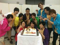 Happy birthday Suzuken :) Posted by namidai on blog 全員集合|浪川大輔 オフィシャルブログ (Sep 16, 2014)