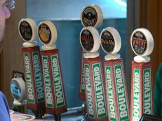 Boulevard Tap Handles - Picture of Boulevard Brewing Company ...